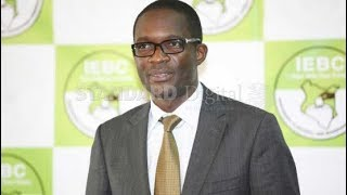 IEBC CEO Ezra Chiloba finds himself in a tight position just hours ...