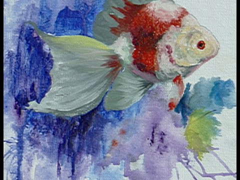 """The Beauty of Oil Painting, Series 1, Episode 26 : """"Fish-Fanta-Sea"""""""
