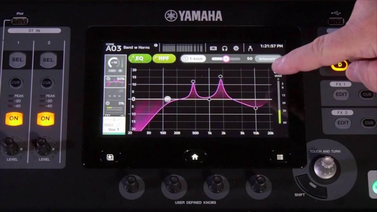 Yamaha One Knob Compressor