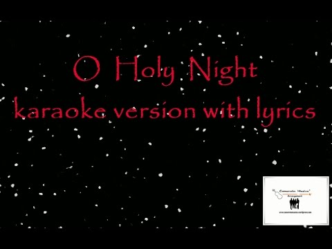 O Holy Night - karaoke version