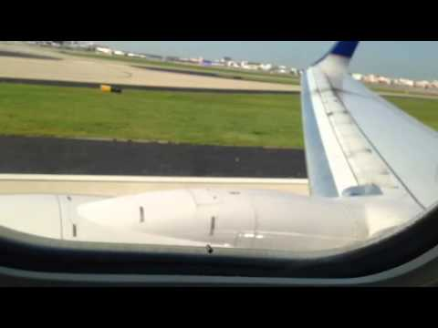 United Airlines Airbus A320 ORD To ATL Landing - Zennie62