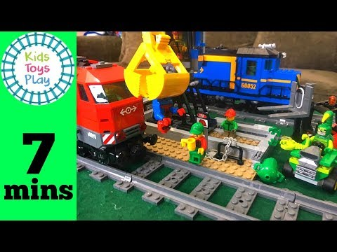 how to slow down lego train