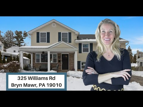 SOLD!!!! 3/15 Explore 325 Williams Road in Bryn Mawr, PA with Top Realtor Kimmy Rolph