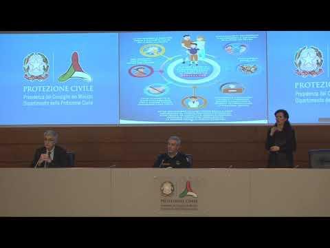 Conferenza stampa 16 aprile 2020 ore 18.00 – Coronavirus