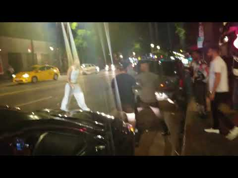 Hampton Brandon gets into fight on Hollywood Boulevard