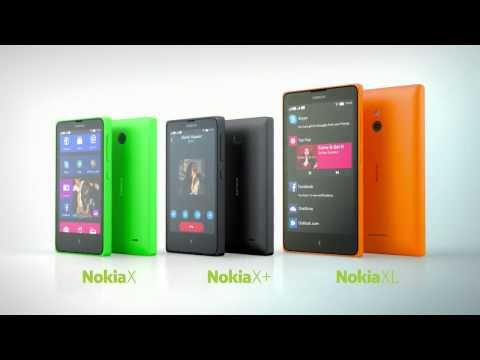 The new Nokia X family   Your Fastlane to Android™ apps HD
