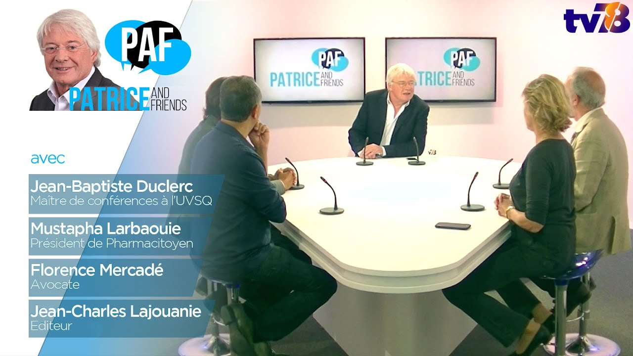 PAF – Patrice and Friends – Emission du 21 septembre 2018