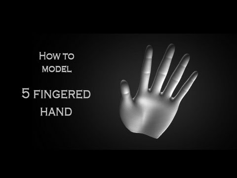 Tutorial: How to model a 3D human hand in Autodesk 3Ds Max