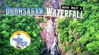 Jump Into Dudhsagar Waterfall | Prasad Travel Vlog | Goa Day 1