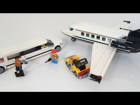 LEGO Airport VIP Service Review! Set# 60102 - YouTube