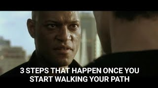 3 Steps That Will Happen as You Walk Your Path! (Matrix Lessons) | C Scott Unleashed Episode 3 #Path