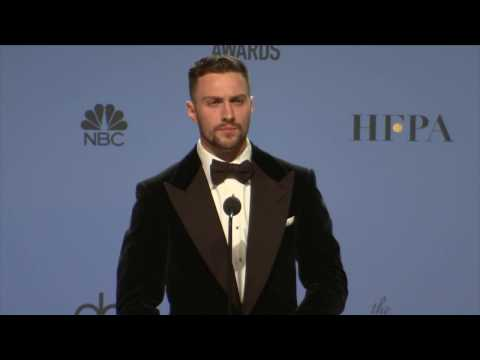 Thumbnail: Golden Globes 2017 Aaron Taylor Johnson Backstage Interview