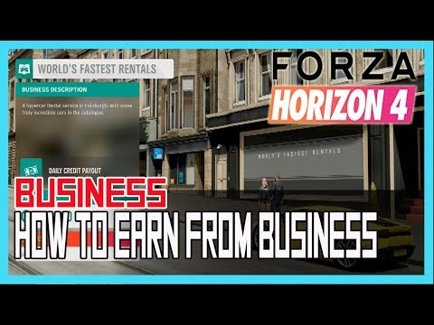 Forza Horizon 4 Bussiness Guide: What Business Should You