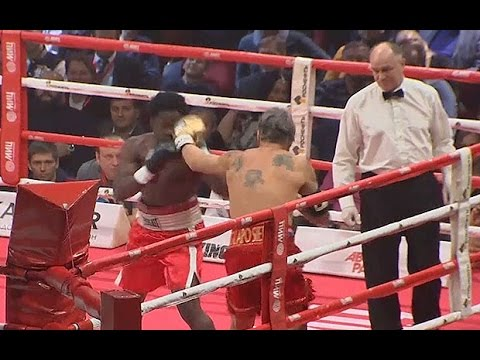 Watch Mickey Rourke defeat Elliot Seymour in Moscow