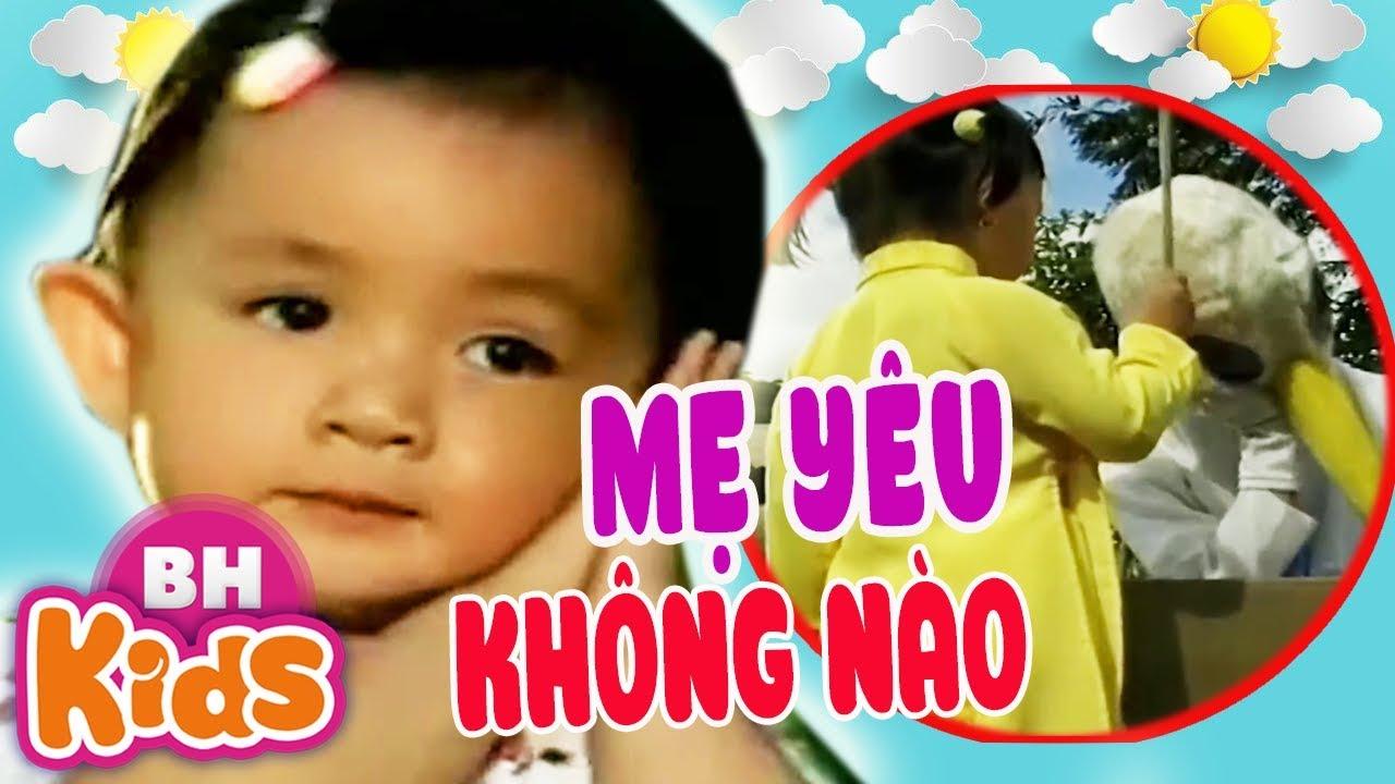 LK Con Cò Bé Bé ♫ Mẹ Yêu Không Nào ♫ Hoa Bé Ngoan - Nhạc Thiếu Nhi Xuân Mai Vui Nhộn