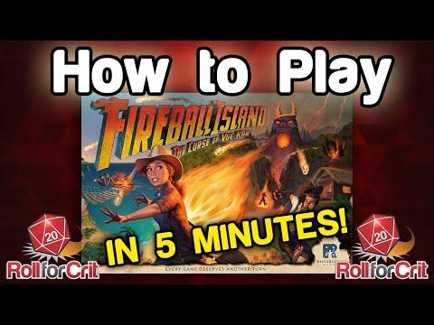How To Play Fireball Island: The Curse Of Vul-Kar   Roll For Crit