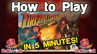 How to Play Fireball Island: The Curse of Vul-Kar | Roll For Crit