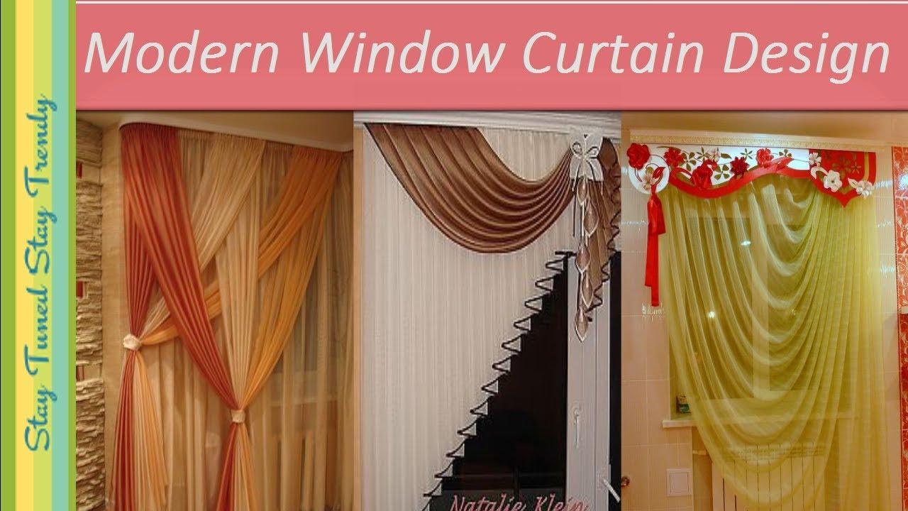 Window Curtain Design Ideas परद क स लग ए Modern