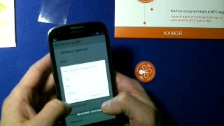 review Of KAMOR NFC Tags With The NFC ReTag Free For Android