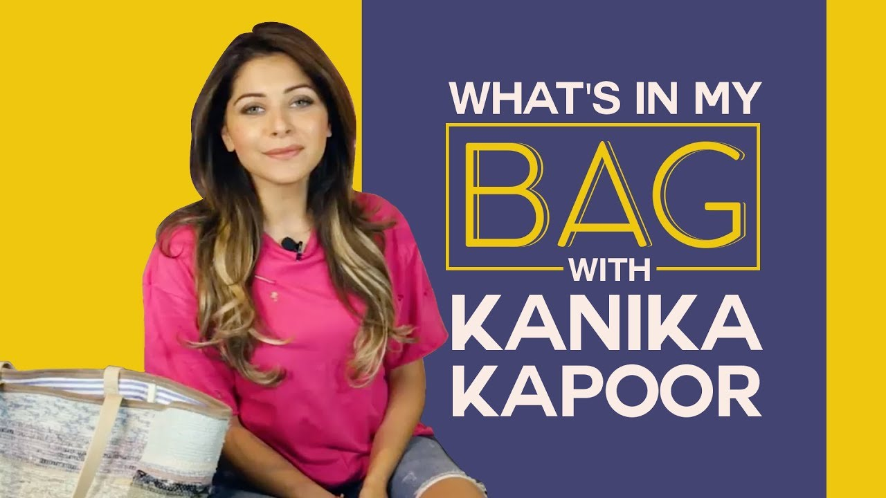 What's in my bag with Kanika Kapoor | S02E03 | Bollywood | Fashion | Pinkvilla