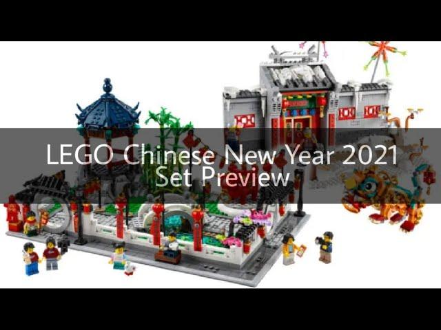 Einfach nur geil: Das sind dei neuen LEGO Chinese New Year 2021 Sets | Preview