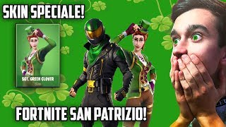 🔴FORTNITE SAN PATRIZIO! SPECIAL SKIN IN THE SHOP! IF I WIN, I'LL TAKE IT! FORTNITE ITA Rimoldigno