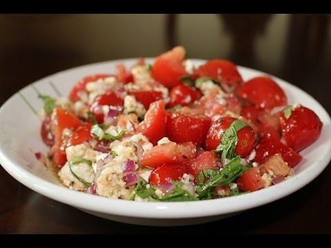 Tomato, Basil & Feta Salad