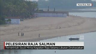 Hari Pertama Pelesiran Raja Salman di Bali