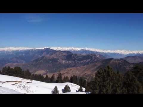 Panorama enroute to Prashar Lake (near Mandi, Himachal Pradesh)