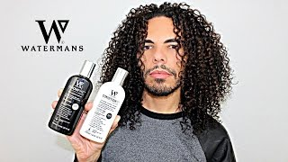 Best Hair Growth Treatment WATERMANS Grow Me Shampoo & Condition Me Conditioner Product Review