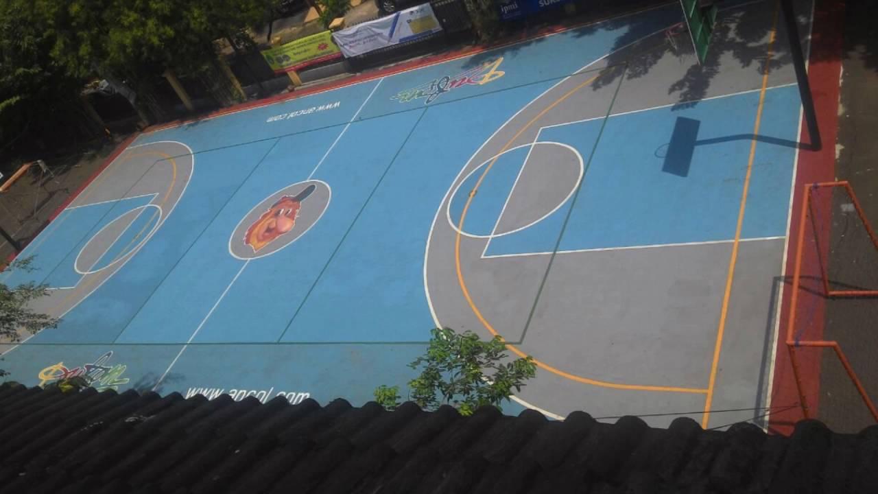 0823 1837 6688 Tsel Jasa Pengecatan Lapangan Basket