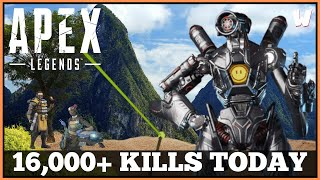 Fearless Friday Frags // 16,000+ Eliminations Today // Apex Legends Live // PS4 Gameplay
