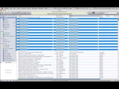 HOWTO: Create iTunes audiobooks from MP3s