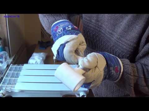 Как самому сделать отопление в частном доме из полипропилена видео