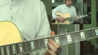 Mastertheguitar.co.uk - master that riff! 35- 'work song' by cannonball/nat adderley tab @ http://www.mastertheguitar.co.uk/mtr/35recorded with ibanez af105n...