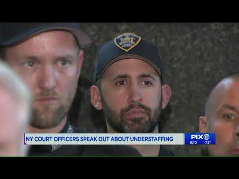 NY court officers speak out about understaffing