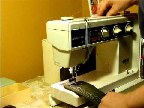 ELNA SU AIR ELECTRONIC SEWING MACHINE YouTube Inspiration How To Thread A Elna Sewing Machine