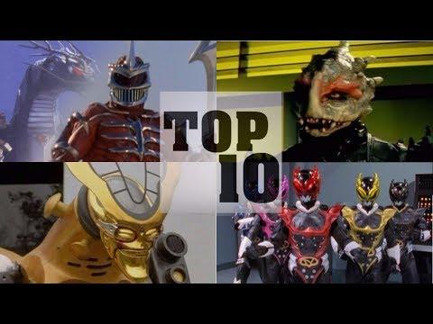 Top 10 BEST Power Ranger Villains