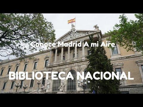 Conoce Madrid A mi Aire: Biblioteca Nacional de España