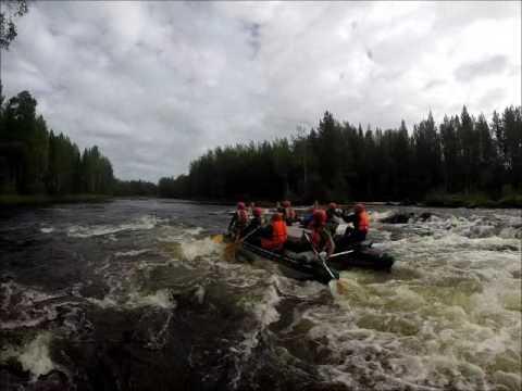 река Кереть водный поход лето 2016
