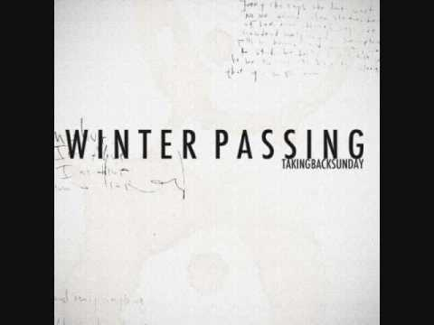 **NEW** Taking Back Sunday- Winter Passing