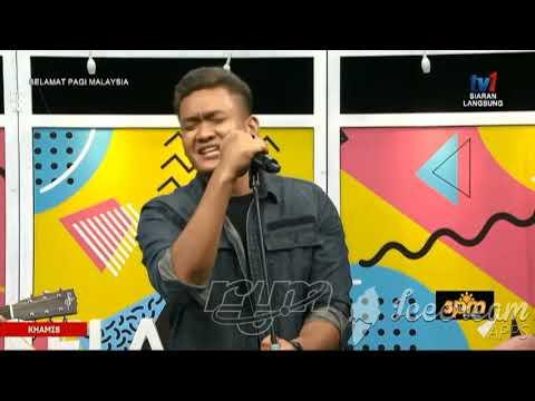 Projector Band Akhirnya Ku Tahu Live Selamat Pagi Malaysia