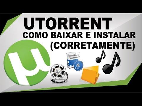 Como Baixar, Instalar e Usar o Utorrent...