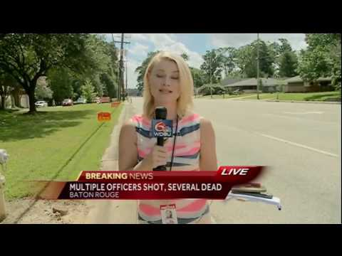 Multiple officers shot, several dead in Baton Rouge