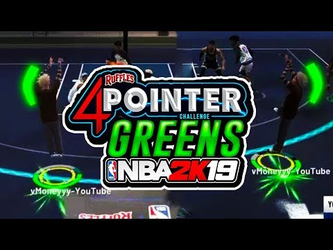 PURE SHARP DON'T MISS 4 POINTERS! | NBA 2K19 SHARSHOOTER GOING CRAZY IN RUFFLES!