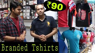₹90 में टीशर्ट | BRANDED T-SHIRTS BETTER THAN LUDHIYANA & TRIPUR CHEAPEST TSHIRTS MAHAVEER GALI