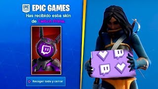 How to GET SKIN TWITCH PRIME TOTALLY FREE in Fortnite! [PS4, Xbox One, PC,Nintendo]