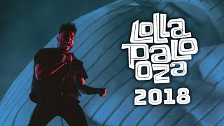 The Weeknd @ Lollapalooza 2018