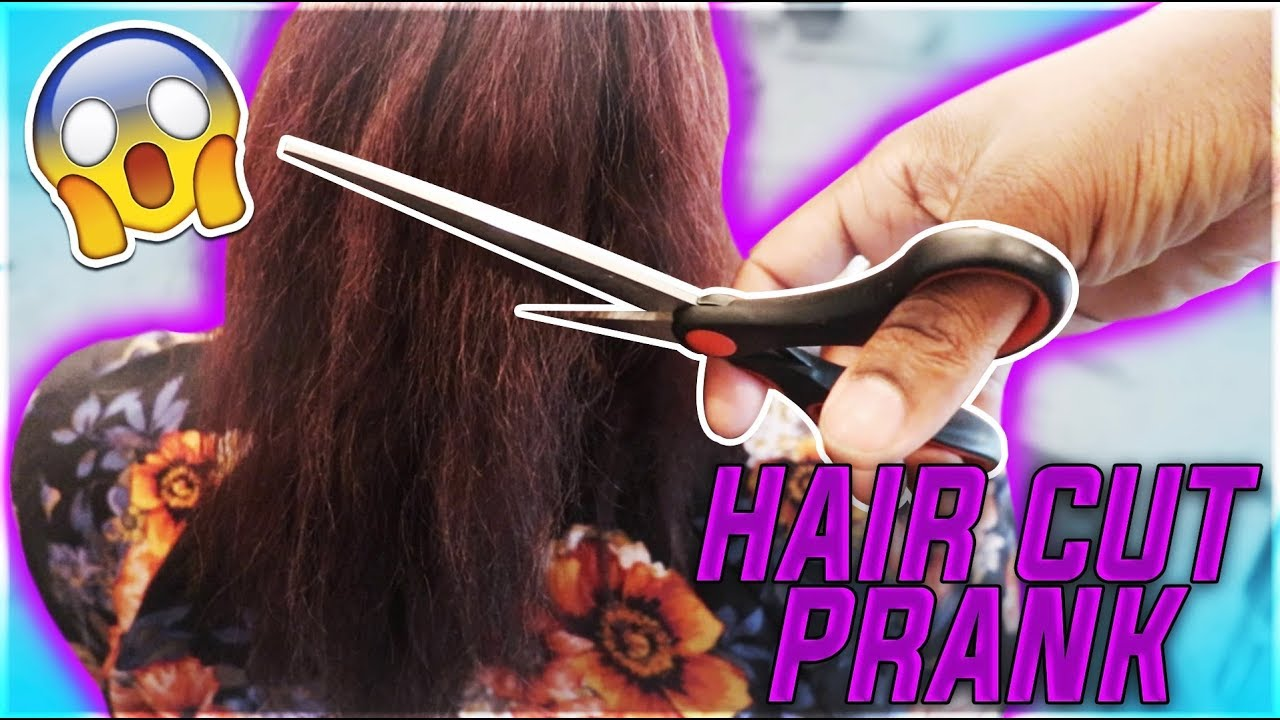 HAIR CUT PRANK ON WIFE | THE PRINCE FAMILY