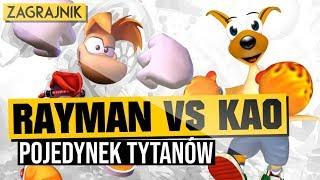 Rayman vs Kangurek Kao - Pojedynek Tytanów